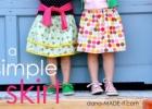 Nemokamos siuvimo iškarpos: Sijonukai mergaitėms (60+ variantų)