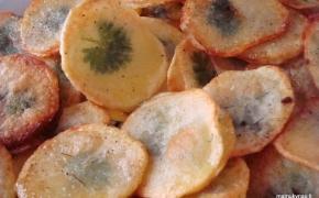 Bulvių traškučiai su staigmena