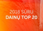 SURU.lt 2018 top 20 dainos