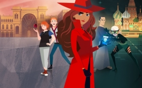 Animacija. Carmen Sandiego