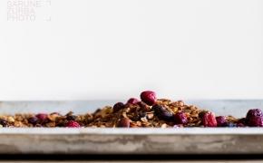 Žiemos linkėjimai arba Chai granola