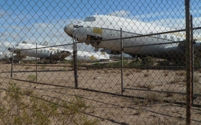 Milžiniškos lėktuvų kapinės JAV