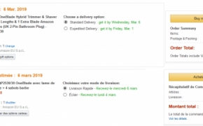 Skirtingi europietiški Amazon – skirtingos kainos