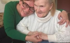 Taip, mano mamytė globojama slaugos namuose