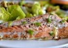 Pavasariškos salotos ir lašiša pagal Mary Berry