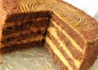Karamelinis kavos tortas