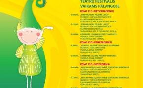 """Palangoje – teatro festivalis vaikams ,,Kurhauzo nykštukas"""""""