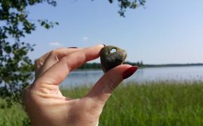 Trumpa apklausa: apie akmenį su skylute
