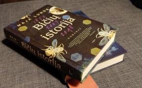 """Mėgiamiausių knygų sąrašą pildau dar viena: Maja Lunde """"Bičių istorija"""""""