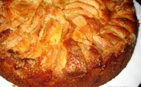 Varškinės tešlos obuolių pyragas
