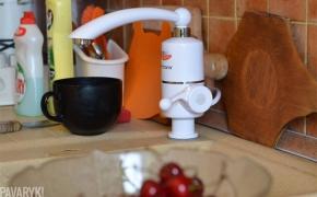 Išbandyta: vandens šildytuvas taupo pinigus!