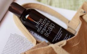 John Masters Organics Scalp Galvos odą stimuliuojantis šampūnas su šaltmėtėmis