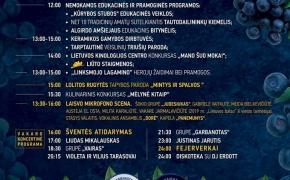 Mėlynių festivalis 2019 Lekėčiuose