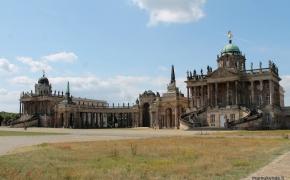 Sanssouci parkas. Potsdamas – tikrai yra ką pamatyti!