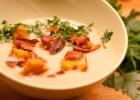 Trinta kalafiorų sriuba su gremolata