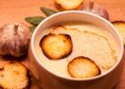 Prancūziška trintų česnakų sriuba