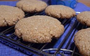 Imbieriniai migdolų miltų sausainiai