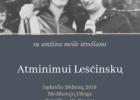Kaunas 1970 ir Lionginas Leščinskas