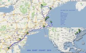Glūkoidų tinklapiui 12 metų. Amerikos atradimai: Rytinė pakrantė (5 dalis). Washington DC