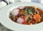 Meksikietiška sriuba su jautiena a la Caldo de Res