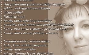 Eilėraštis: Olga Tokarczuk