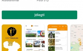 Atrasti ir pažinti Šiaulių regioną padės apps'as