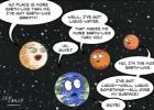Kokios gali būti žemiškos planetos?