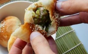 Taivanietiškos pipirinės bandelės | hujiao bing