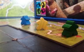 Stalo žaidimai. Carcassonne