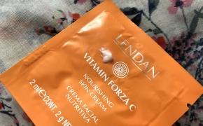 PIRMAS ĮSPŪDIS. LENDAN Vitamin C Forza Nourishing Skin Cream – vitamino C linijos maitinamasis kremas