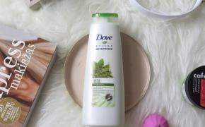 Dove Nourishing Secrets Detox Ritual šampūnas su matcha, be silikonų