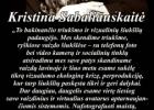 Šios dienos citata: Kristina Sabaliauskaitė apie socialinių tinklų, selfų (asmenučių) ir vizualizacijos kultūros šiukšles