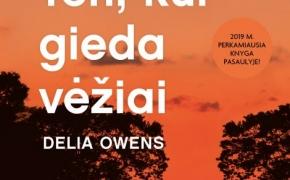 "1114(35) Delia Owens ""Ten, kur gieda vėžiai"""
