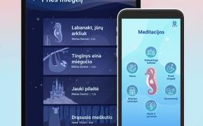 Nervus į konservus – pasinaudok lietuviška meditacijų vaikams programėle