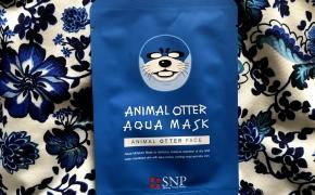 SNP Shining Nature Purity Animal Otter Aqua Mask – drėkinamoji lakštinė veido kaukė