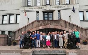 Nacionalinio susivienijimo žygis per Lietuvą