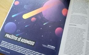 Protagoniste – apie kosminius pavojus