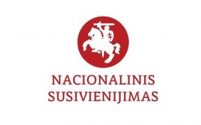 """POLITINĖS PARTIJOS """"NACIONALINIS SUSIVIENIJIMAS"""" KREIPIMASIS"""