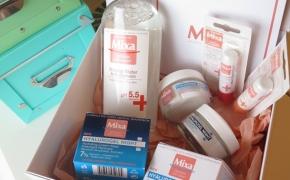 Apie Mixa kosmetiką: micelinis vanduo, dieninis ir naktinis kremai bei vazelinai*