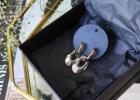MNK – handmade jewelry Auskarai su Swarovski kristalais*