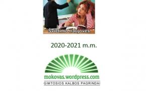 Švietimo naujovės 2020-2021 m.m.