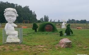 Lekiam Lietuvos keliais. Slabados malūno užtvanka, Mėnulio akmens parkas, Naisiai