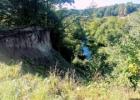 Pagramantis. Pagramančio atodanga, piliakalnis bei Meilės akmuo. (Tauragės raj.)