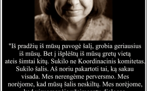 Šios dienos citata: Svetlana Aleksijevič apie Baltarusiją, Lukašenkos beprotybę ir baltarusius