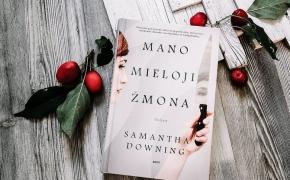 MANO MIELOJI ŽMONA – Samantha Downing⠀