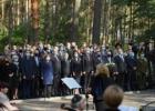 Panerių memoriale pagerbtos žydų genocido aukos