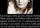 Šios dienos citata: poetė Lina Buividavičiūtė apie save ir savo kūrybą