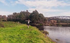 Kabantys tiltai per Žeimeną