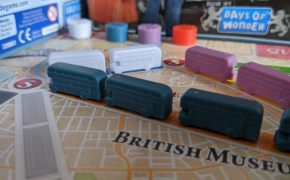 Stalo žaidimas. Ticket to ride: London