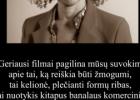 Šios dienos citata: Bernardine Evaristo apie nekomercinius filmus